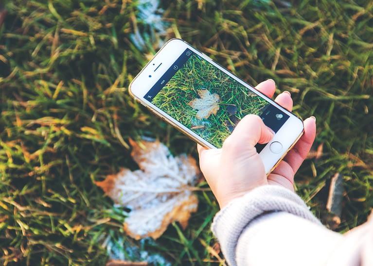 photographie avec smartphone
